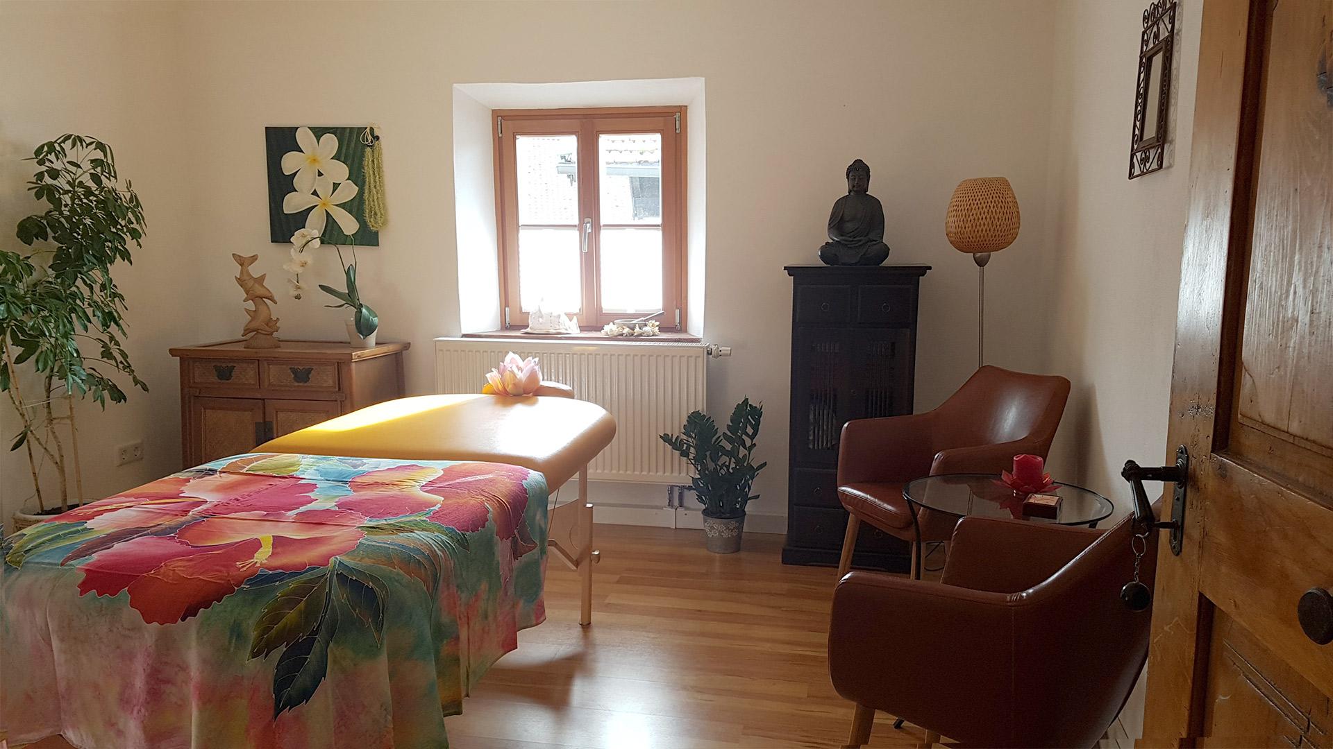 Massageraum in Nußdorf am Inn, Anna Leonhardsberger